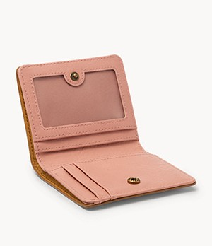 fossil wallet women